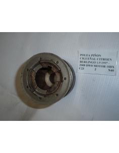 Polea piñon cigueñal Citroen Berlingo 1.9 1997 - 2008 DW8 motor 10DX