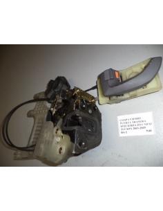 Chapa cierre puerta trasera izquierda Hyundai Tucson 2005 - 2009
