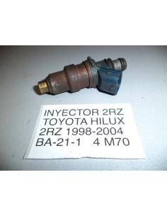 Inyector Motor 2RZ Toyota Hilux 1998 - 2004 bencinero