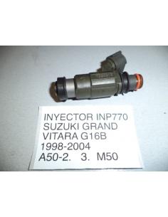 Inyector Suzuki Grand Vitara motor G16B 1998 - 2004 codigo INP770