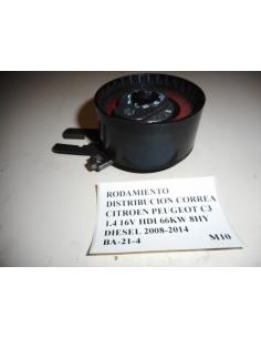 Rodamiento distribucion correa Citroen Peugeot C3 1.4 16V HDI 66KW 8HY Diesel 2008 - 2014