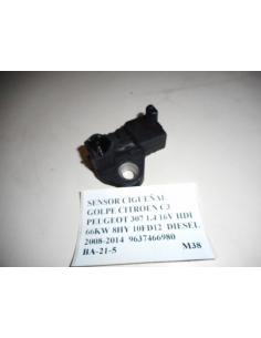 Sensor cigueñal golpe Citroen C3 Peugeot 307 1.4 16V HDI 66KW 8HY 10FD12 Diesel 2008 - 2014 9637466980