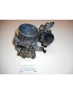 Cuerpo aceleracion TPS IAC Hyundai Elantra Santamo 1.6 1993 - 1996 Bencinero