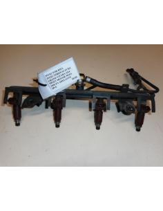 Inyector riel inyectores Suzuki Grand Vitara SX4 Swift motor M16A 2006 en adelante