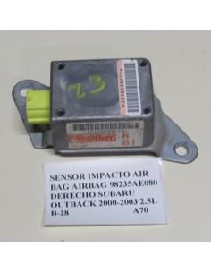Sensor impacto airbag 98235AE080 derecho Subaru Outback 2.5 2000 - 2003