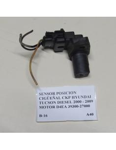 Sensor posicion cigueñal CKP Hyundai Tucson Diesel 2000 - 2009 motor D4EA 39300-27000