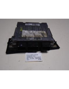 Ecu computador Siemens COD: 5WS40024F-T Peugeot 406 2.0 HDI 1999 - 2004