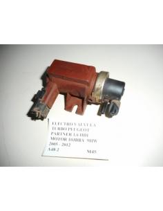 Electro valvula turbo Peugeot Partner 1.6 HDI motor 10JBBA 9HW 2005 - 2012