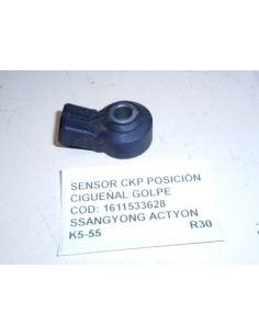 SENSOR CKP POSICION CIGUEÑAL GOLPE COD: 1611533628 SSANGYONG ACTYON
