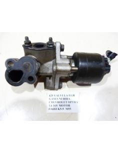 VALVULA EGR GASES DAEWOO NUBIRA CHEVROLET OPTRA 1.6 16V MOTOR F16D3