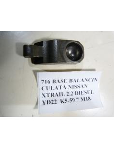 BASE BALANCIN CULATA NISSAN XTRAIL 2.2 DIESEL YD22
