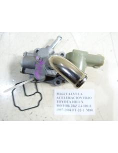 VALVULA ACELERACION FRIO TOYOTA HILUX MOTOR 2RZ 2.4 IDLE 1997-2004