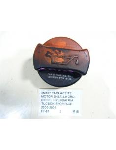 TAPA ACEITE MOTOR D4EA 2.0 CRDI DIESEL HYUNDAI KIA TUCSON SPORTAGE 2000-2006