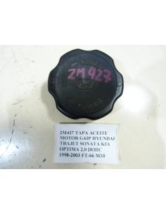 TAPA ACEITE MOTOR G4JP HYUNDAI TRAJET SONATA KIA OPTIMA 2.0 DOHC 1998-2003