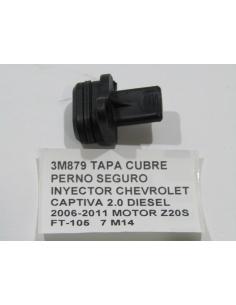 TAPA CUBRE PERNO SEGURO INYECTOR CHEVROLET CAPTIVA 2.0 DIESEL 2006-2011