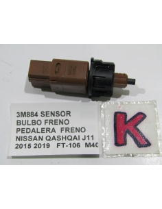 SENSOR BULBO FRENO 2 PINES PEDALERA FRENO NISSAN