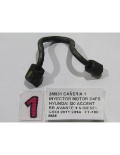 CAÑERIA 1 INYECTOR MOTOR D4FB HYUNDAI I30 ACCENT RB AVANTE 1.6