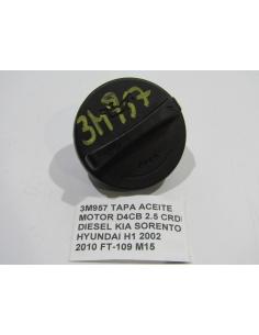 TAPA ACEITE MOTOR D4CB 2.5 CRDI DIESEL KIA SORENTO HYUNDAI H1 2002 2010