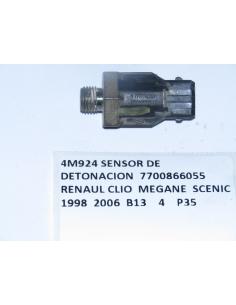 SENSOR DE DETONACION 7700866055 RENAUL CLIO MEGANE SCENIC 1998 2006