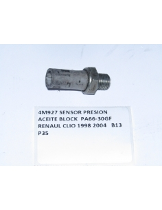 SENSOR PRESION ACEITE BLOCK PA66-30GF RENAUL CLIO 1998 2004