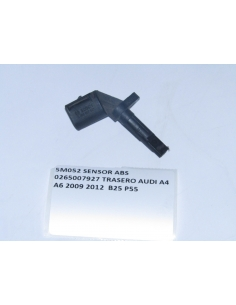 SENSOR ABS 0265007927 TRASERO AUDI A4 A6 2009 2012