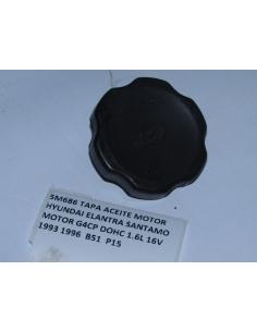 TAPA ACEITE MOTOR HYUNDAI ELANTRA SANTAMO MOTOR G4CP DOHC 1.6L 16V 1993 1996